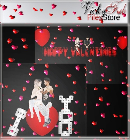 Valentine's Mesh Bundle