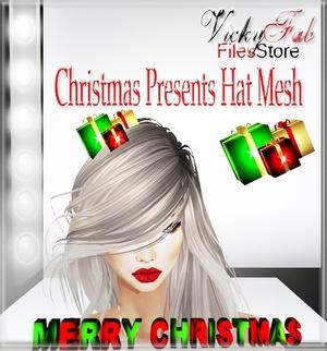 Christmas Presents Hat Mesh