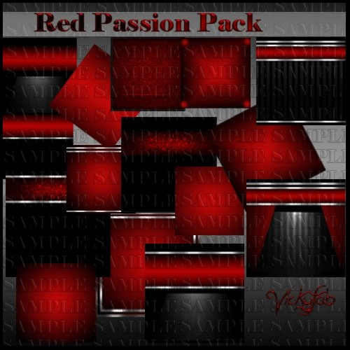 Red Passion Room Textures