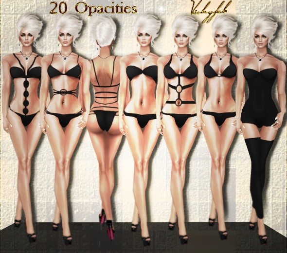 Underwear-Swimwear opacity maps bundle (20 opacities)