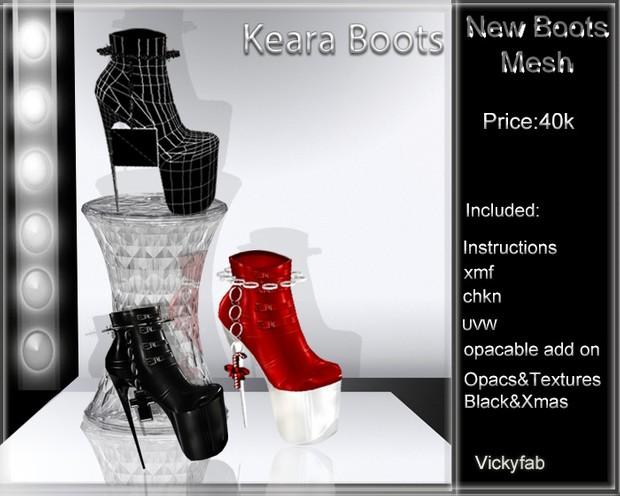 Keera Boots Mesh