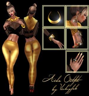 Sis3D - Aida Outfit