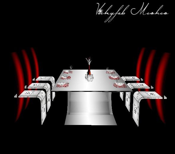 Leela Dining Mesh