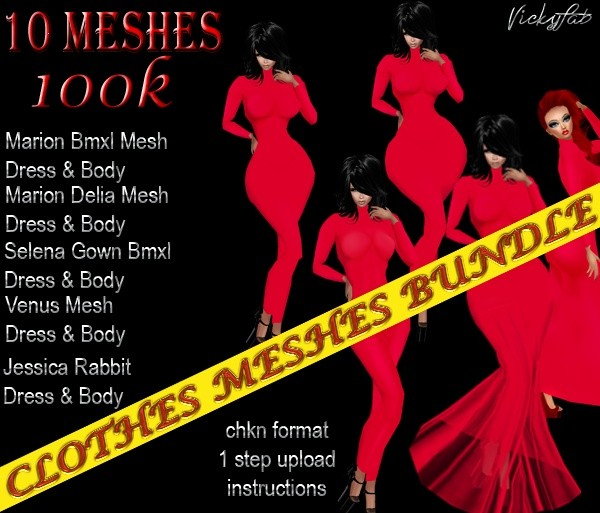 Clothes Meshes Bundle2