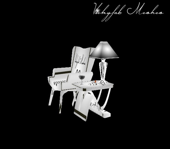 Cosy Chair W/Pose Mesh