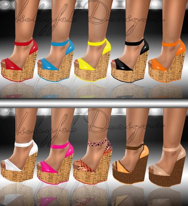 Katia Any Shape Boots Mesh & Texture Bundle 22 textures ( PNG & PSD)
