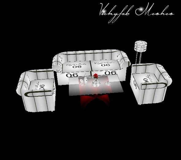Lounge Set Mesh File