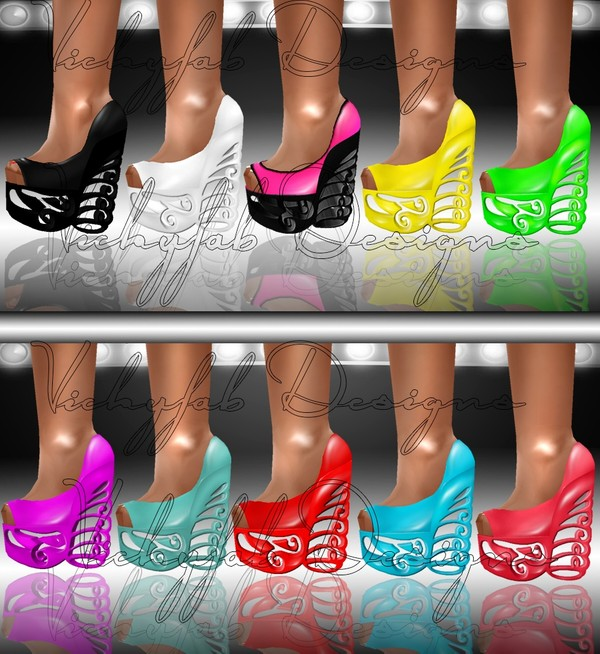 Katia Any Shape Boots Texture Bundle4 10 textures ( PNG & PSD)