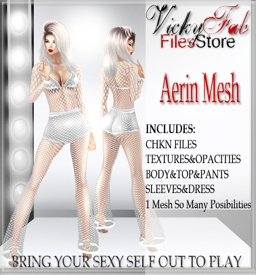 Aerin Mesh (BODY+TOP+DRESS+PANTS)
