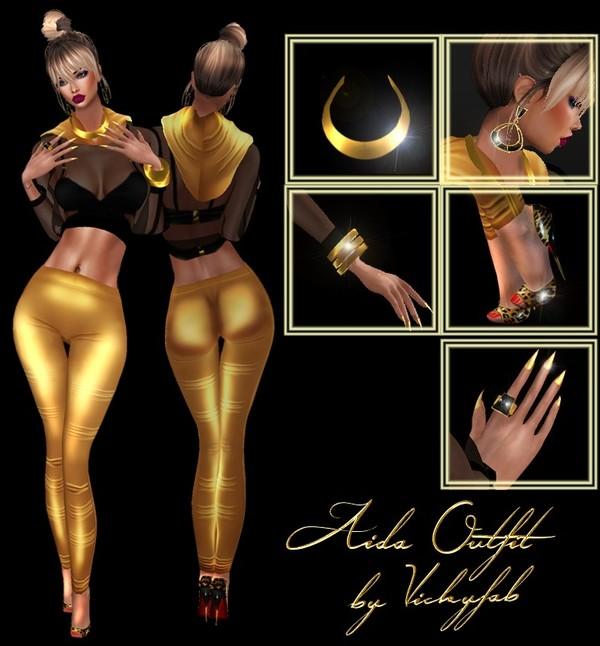 Bibirasta - Aida Outfit