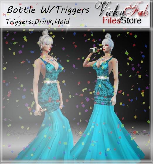 Bottle W/Triggers