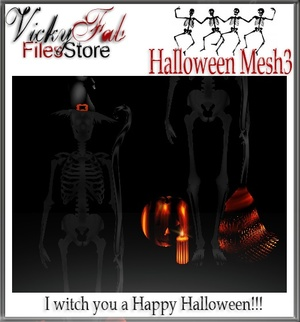 2016 Halloween Mesh3