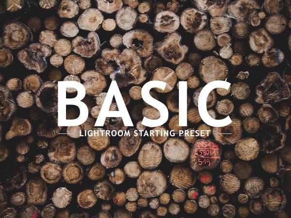 BASIC Lightroom Preset