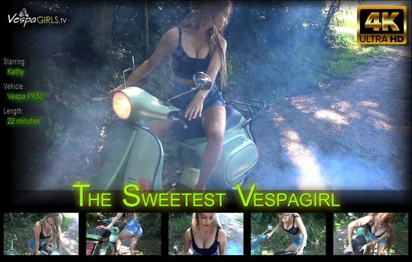 The sweetest Vespagirl