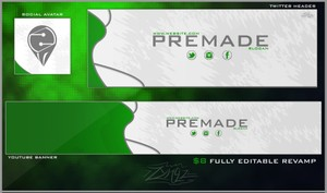 Abstract Premade Revamp Pack (Clean)
