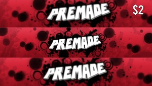 Premade Professional Youtube Banner