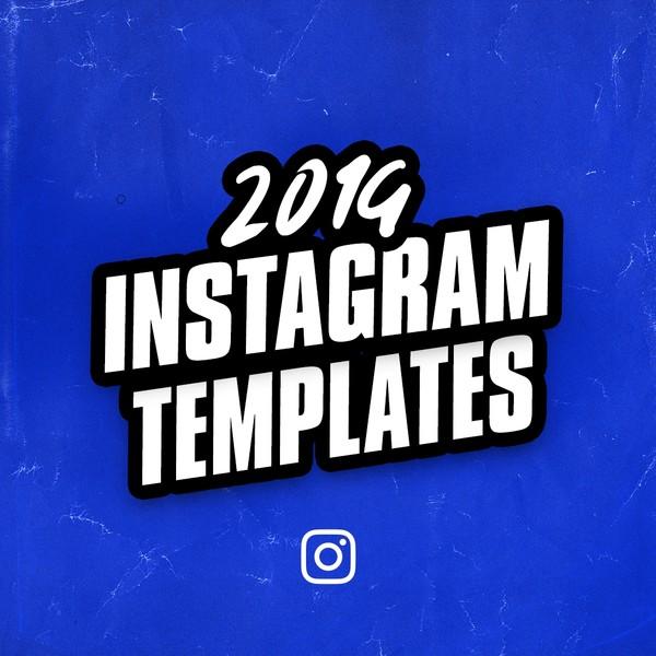 2019 Instagram Design Templates