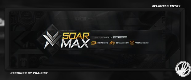 SoaR Max Twitter Header By SoaR Praizist
