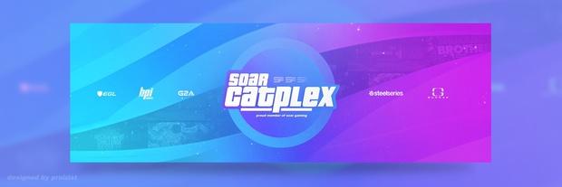 SoaR Catplex Twitter Header .PSD by SoaR Praizist