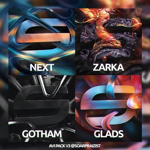Layerstyles and AVI .PSD Pack V3 by @SoaRPraizist