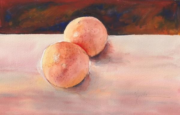 """Oranges"" Original Watercolor"