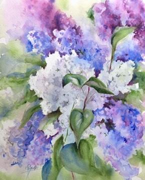 """Lilacs II"" Small Print on Demand"