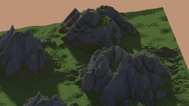 Epic Mountain Brush Pack - For ZBrush, Mudbox, or WorldPainter