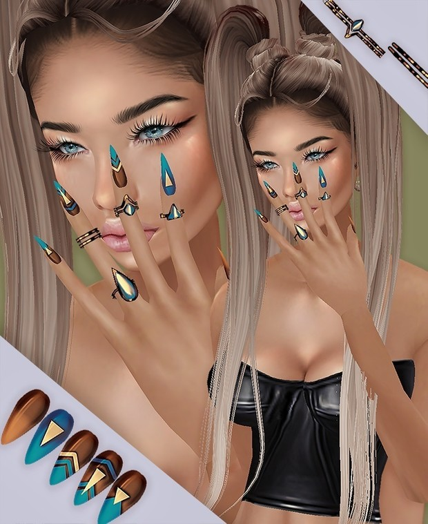 X4 Styles NAILS & RINGS - RESELLS RIGHTS