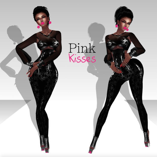 Pink Kisses Pack - RESELLS RIGHTS !