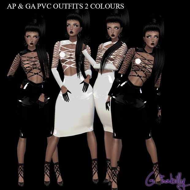 Pvc Outfits X2 including resells rights