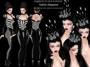 GOTHIC ELEGANCE PACK - RESELLS RIGHTS