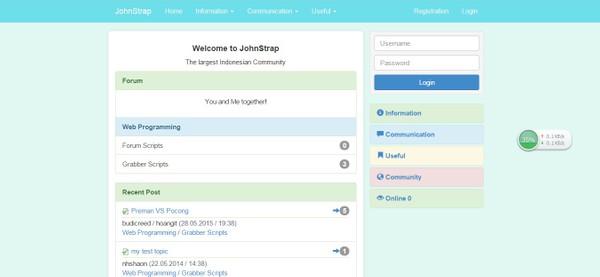 JohnCMS Bootstrap