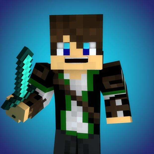 Basic Minecraft Youtube Profile Picture