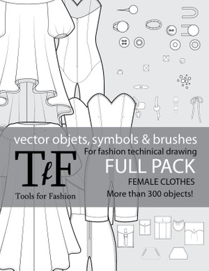 Vectors for Fashion Flats Full Pack!!