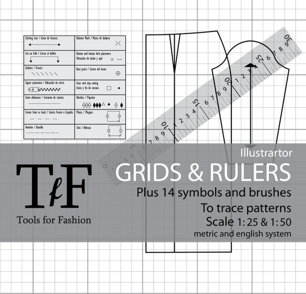 Grids and Rulers to Trace Patterns