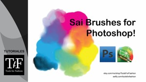 Paint Tool SAI look like Brushes for Photoshop
