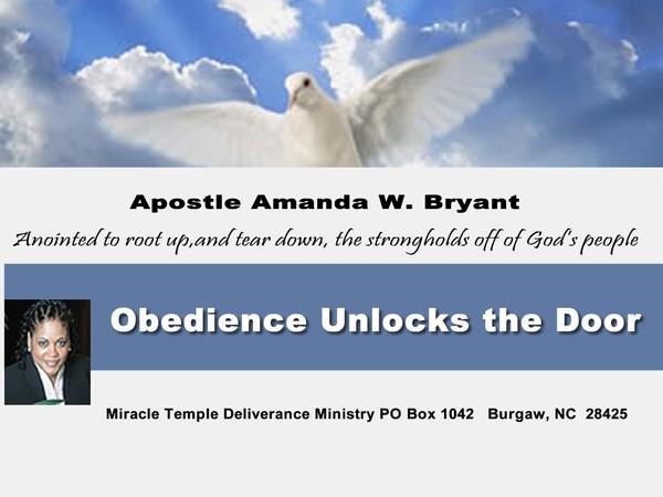 Obedience Unlocks The Door