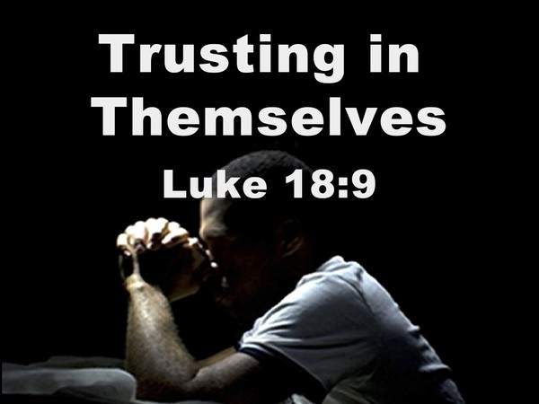 Trusting In Themselves Audio