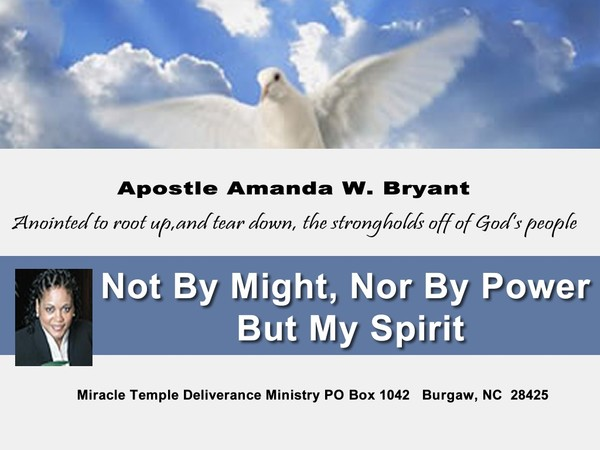 Not By Might, Nor By Power But My Spirit Says Th Lord Of Hosts video