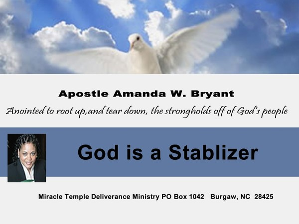 God Is A Stabilizer video