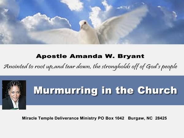 Murmuring In The Church video