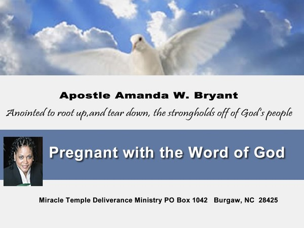 Becoming Pregnant With The Word Of God video