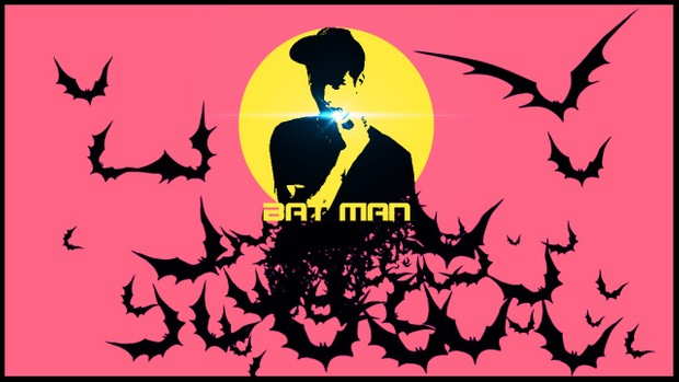 Photoshop Tutorial Creative Poster Bat Man Effect