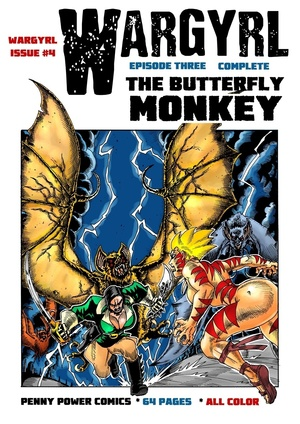 Wargyrl #4: The Butterfly Monkey