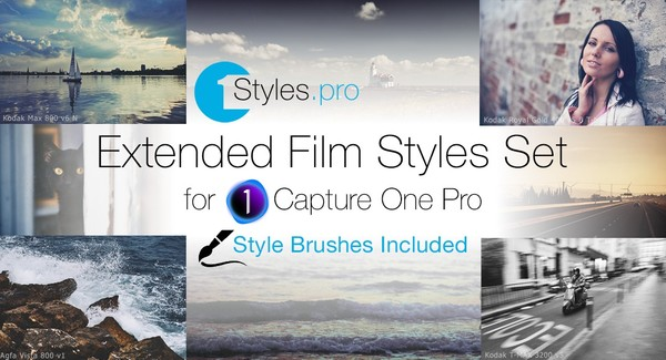 Extended Film Styles Set (Style Brushes Included)