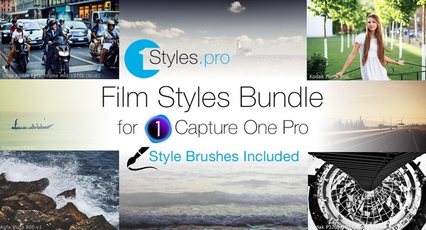 Film Styles Bundle (Style Brushes Included)