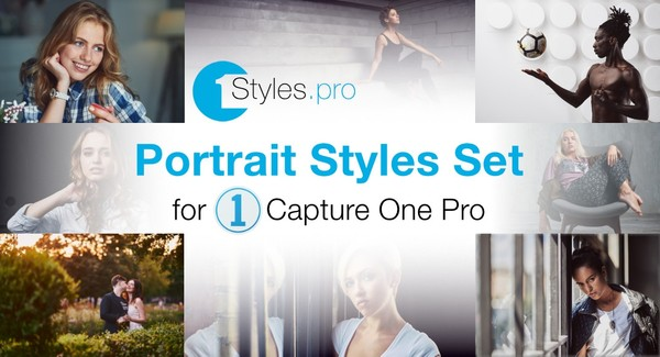 Sample Portrait Styles for Capture One