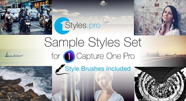 1Styles.pro Sample Styles (Style Brushes Included)