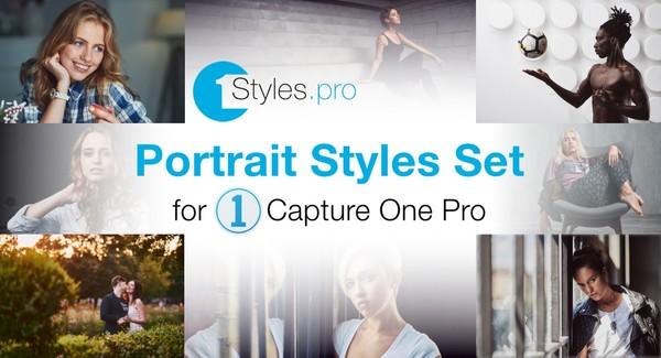 Portrait Styles Set