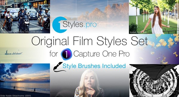 Original Film Styles Set (Style Brushes Included)